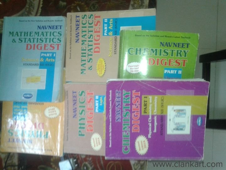 All PCM subjects digest r THERE - Used Books