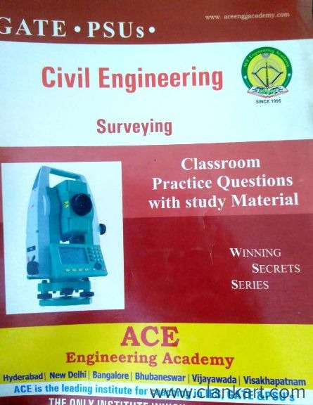 ACE Academy GATE 2014 Civil Engineering Material - Hyderabad | Clankart