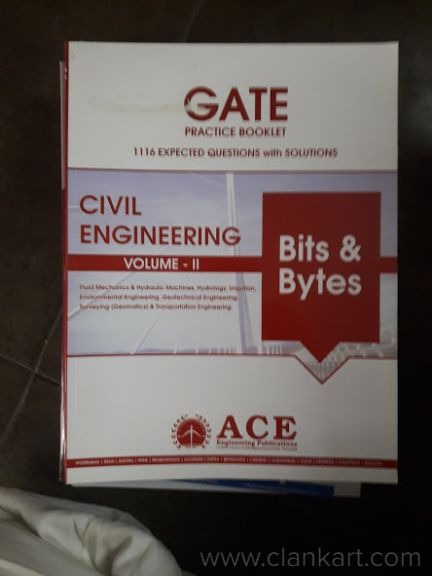 Books are of Quality standard and they are of 2018 edition. Ace is one of the leading academy in Gat - New Books
