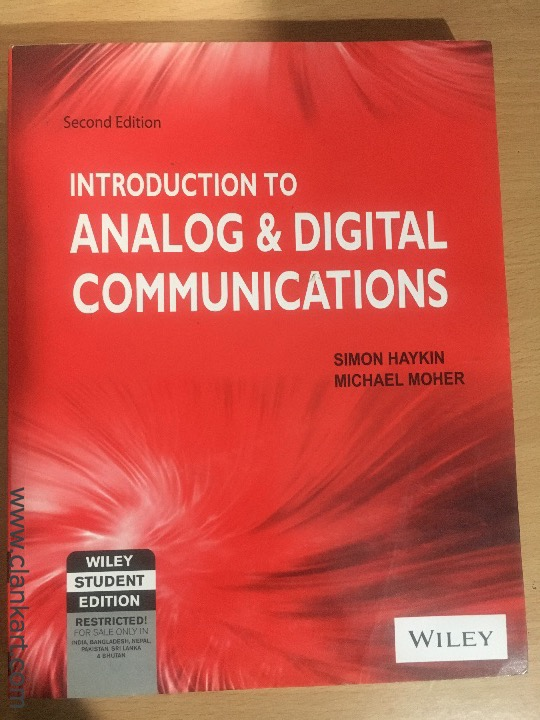 Analog and Digital Communications - New Books