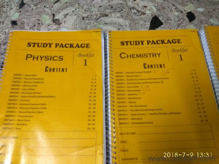 Physics chemistry mathematics - Used Books