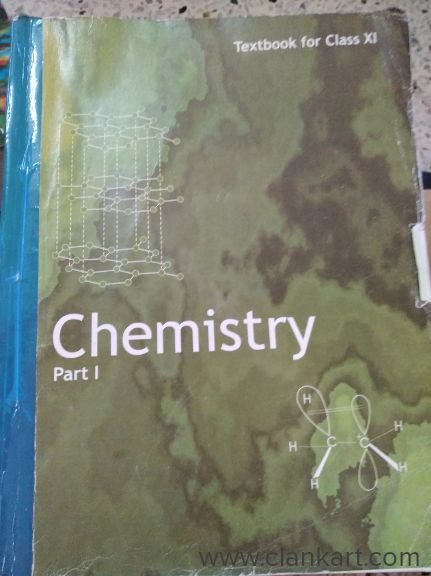 Chemistry NCERT Textbook Class 11, Part 1 - Used Books
