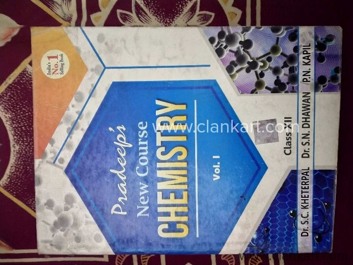 Class 12th chemistry book by pradeep publications not used - Gurgaon    Clankart
