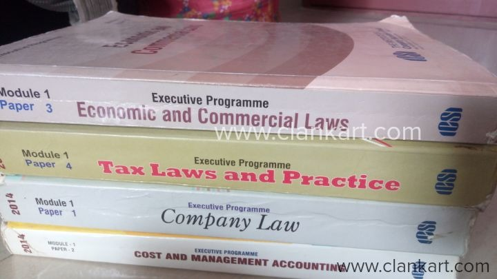Economic and commercial law , company law and free scanners along with books. - New Books