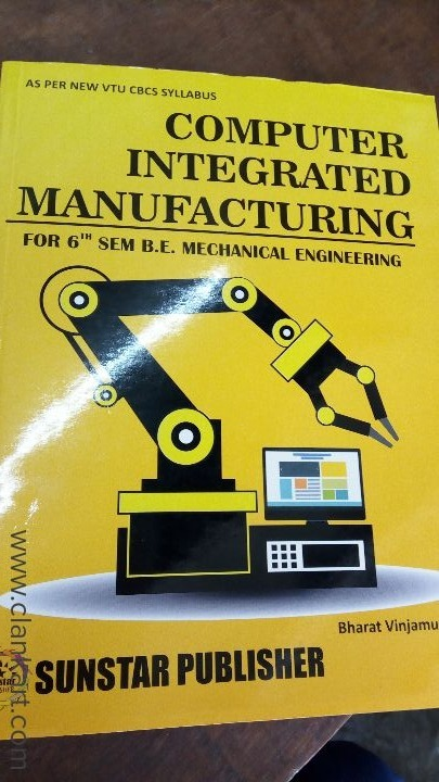 Computer integrated manufacturing CBCS 6 sem BE Mechanical Engg vtu -  Mysore | Clankart