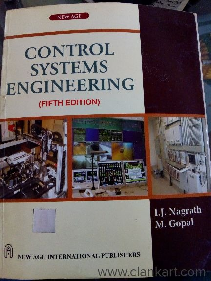 Control systems engineering - Used Books