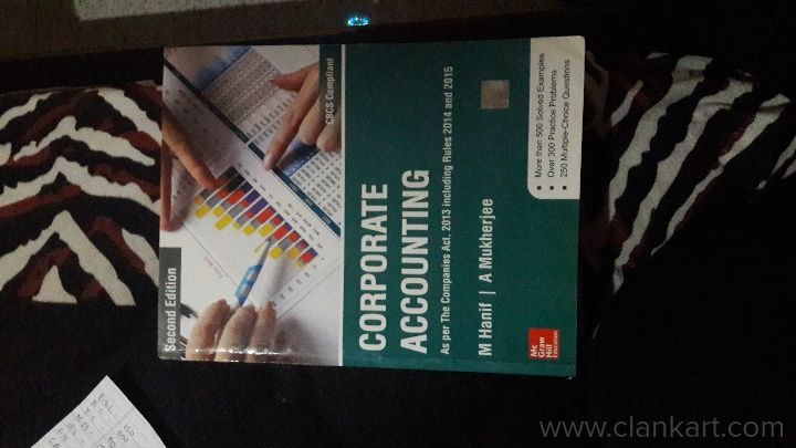 Corporate accounting - New Books