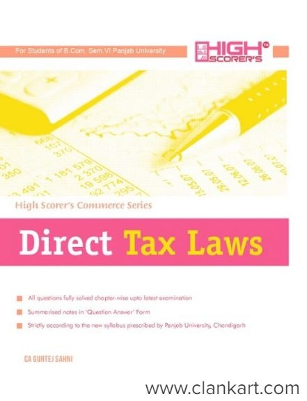 Direct Tax Laws, Commerical Law  - Used Books