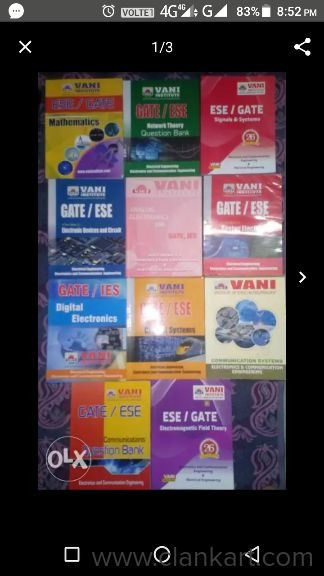 All gate subjects - Used Books