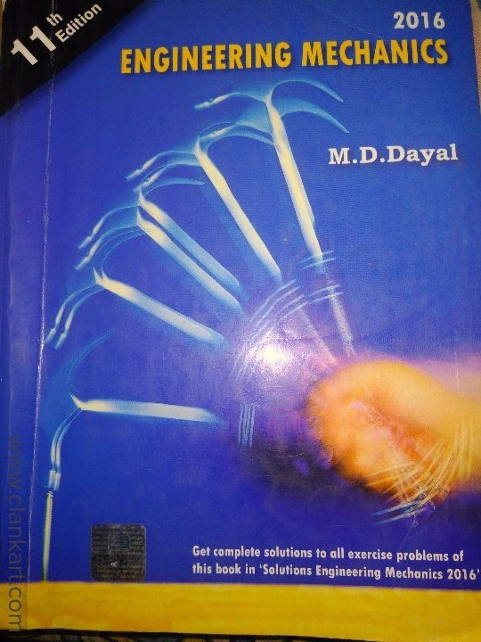 engineering mechanics by md dayal