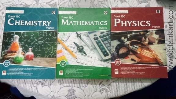 Physics,Chemistry and Maths. - New Books