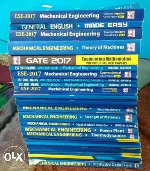 Set of books for Mechanical Engineering students  Price