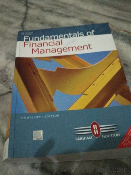 Fundamental of financial management Cengage learning 13th edition Eugene Brigham  - New Books
