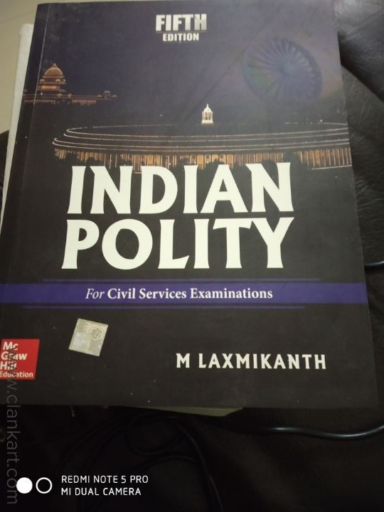 Civil Services Exam Indian Polity - New Books