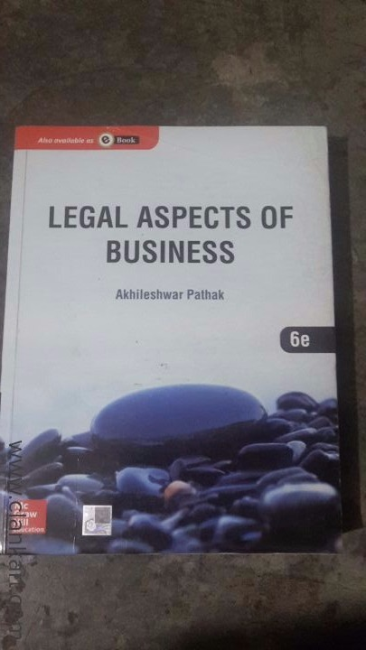 Legal Aspects of Business - New Books