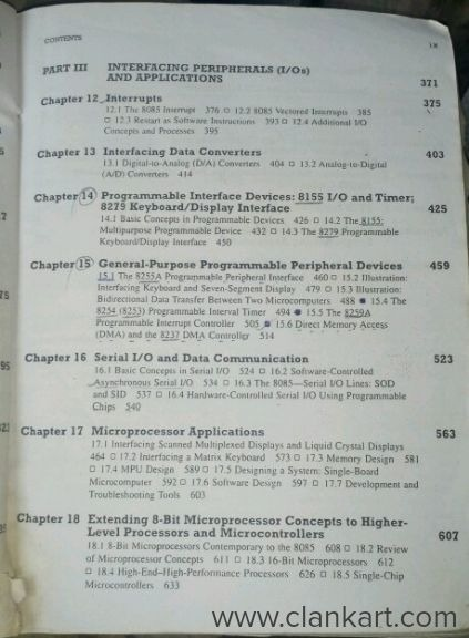 Microprocessor 8085 architecture and it's application - Panipat | Clankart
