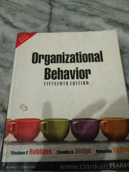 Organisational behaviour Pearson  - Used Books