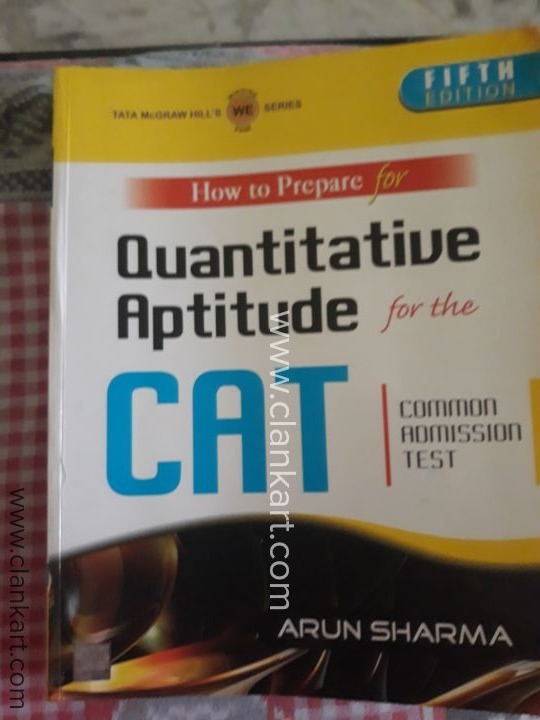 Aptitude book sharma cat arun