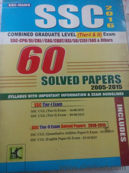 SSC CGL PREVIOUS YEAR SOLVED AND PRACTICE BOOK - New Books