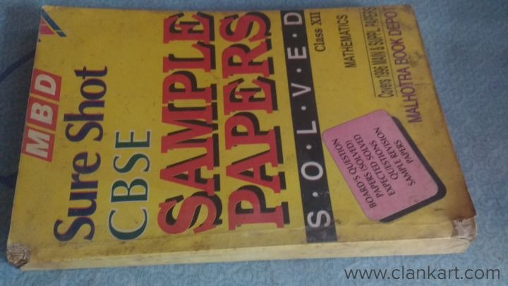 Sure Shot CBSE Sample Papers for +2 Maths - Chennai | Clankart