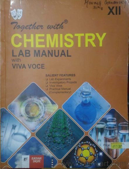 Together With - Chemistry Lab Manual Class 12 - Delhi | Clankart