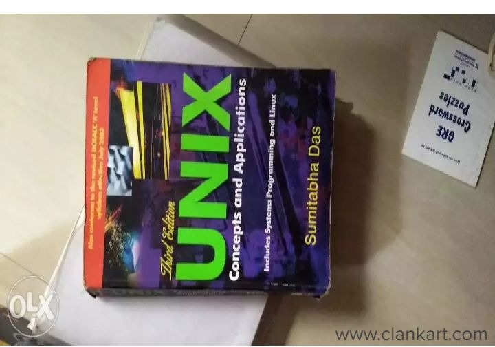 UNIX Concepts and Applications  - Used Books
