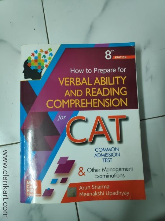 Verbal ability and reading comprehension  - Used Books